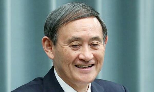 菅義偉の笑顔