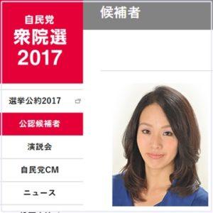 杉田水脈議員2017年