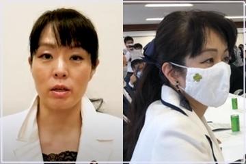 杉田水脈議員のまとめ髪
