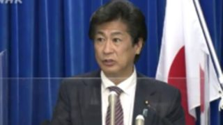 田村憲久厚労大臣 会見 アクリル板