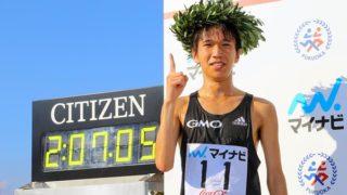 吉田祐也 福岡国際マラソン