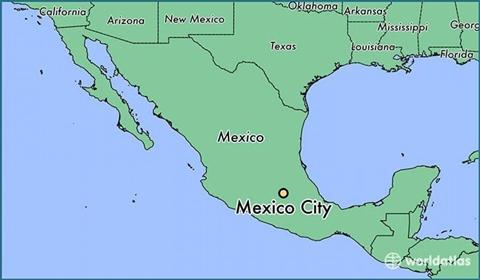 メキシコシティ 地図