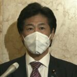 """<span class=""""title"""">田村厚生労働大臣のマスクはどこのメーカー?ネットで「かっこいい」「昆虫の腹みたい」と話題</span>"""