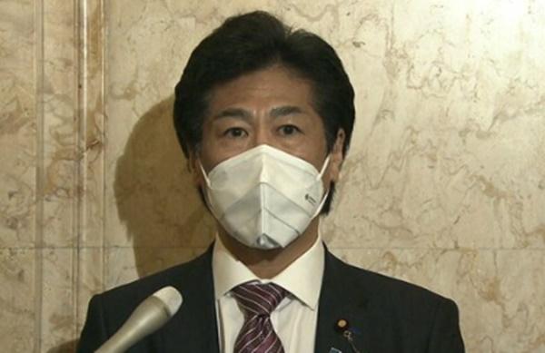 田村大臣 マスク