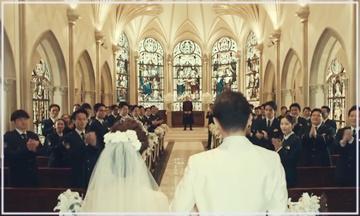 桜の塔 結婚式場 教会